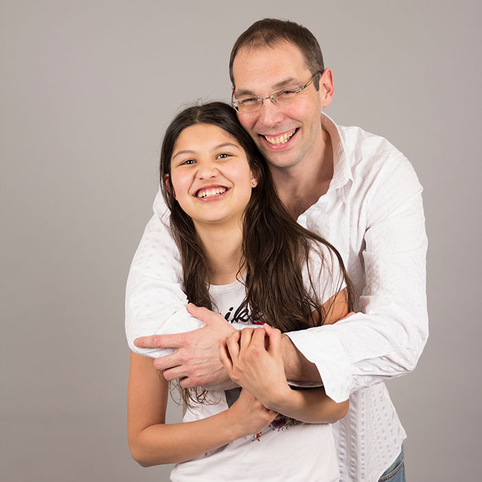 vader dochter fotoshoot vlaardingen portret